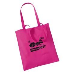 strongAnt - Pink Wiederverwendbare, umweltfreundliche Einkaufstasche – ideal als Badetasche Shopper – 10 Liter