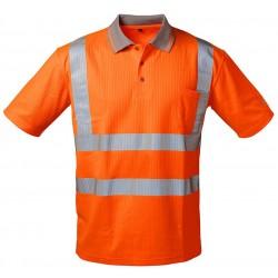 SAFESTYLE® Warnschutz UV-Polo-Shirt - MATEO
